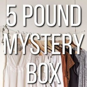 Mystery Box of Re-Sale Reseller's Clothing Items